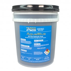 Aqua Blue Oil Free Hydraulic Fluid