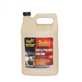 Meguiars 86 Solo Cut and Polish Cream - Gal