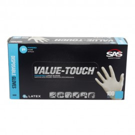 Value Touch Latex Gloves