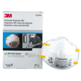 3M N95 Particulate Respirator Dust Mask - Box